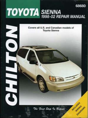 Toyota Sienna Repair Manual: 1998-2002