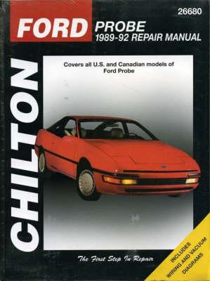 Ford Probe 1989-92 Repair Manual