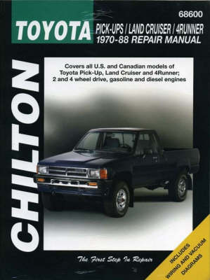 Toyota and Pick-up 1984-88 Repair Manual