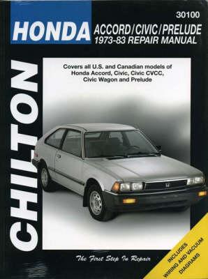 Honda/Accord 1976-78 and Civic 1973-83