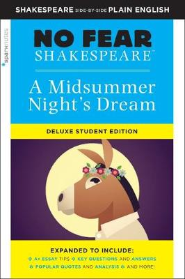 No Fear Shakespeare: Midsummer Night's Dream: Deluxe Student Edition