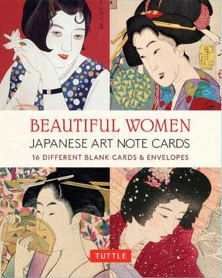 Beautiful Women in Japanese Art Note Cards: 16 Different Blank Cards & Envelopes