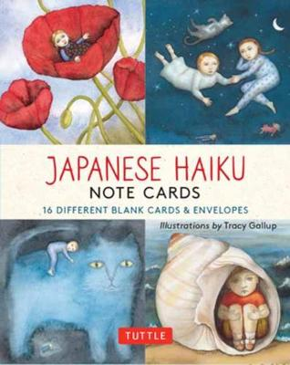Japanese Haiku Note Cards: 16 Different Blank Cards & Envelopes
