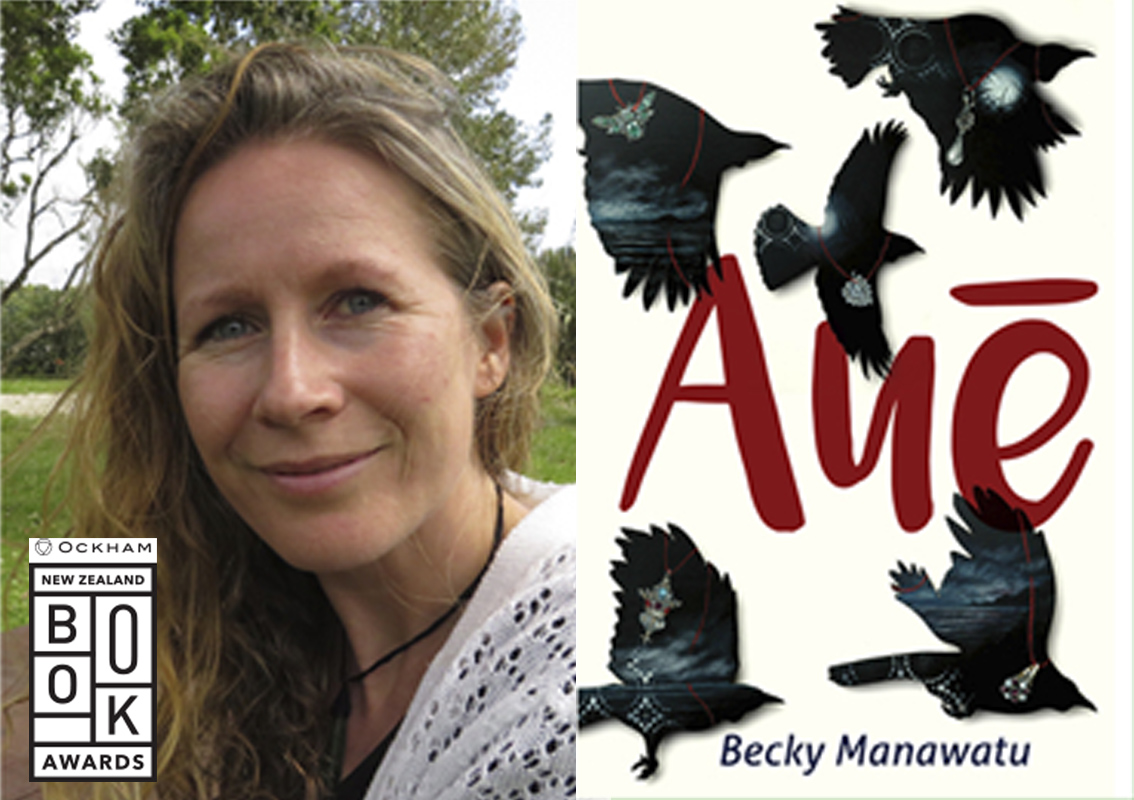Becky Manawatu's 'Auē' wins top prize at Ockham Book Awards!