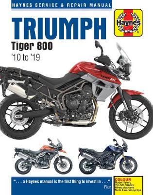 Triumph Tiger 800 (10 -19): 2010 to 2019