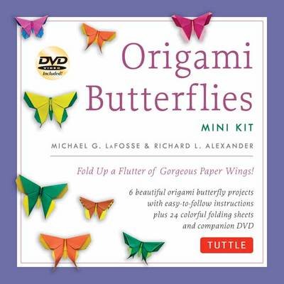 Origami Butterflies Mini Kit: Fold Up a Flutter of Gorgeous Paper Wings!