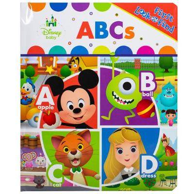 Disney Baby ABC My First Look And Find New Format
