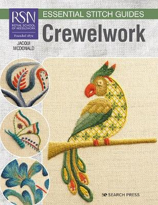RSN Essential Stitch Guides: Crewelwork: Large Format Edition