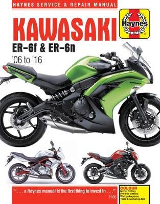 Kawasaki EX650 & ER650 2006-2016 Repair Manual