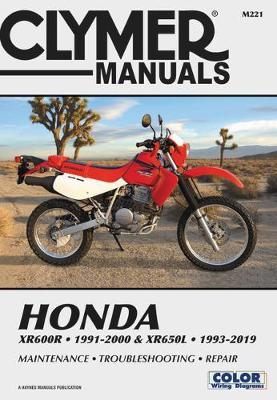 Honda XR600R-XR650L 1993-2019 Repair Manual