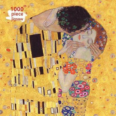 Adult Jigsaw Puzzle Gustav Klimt: The Kiss: 1000-piece Jigsaw Puzzles