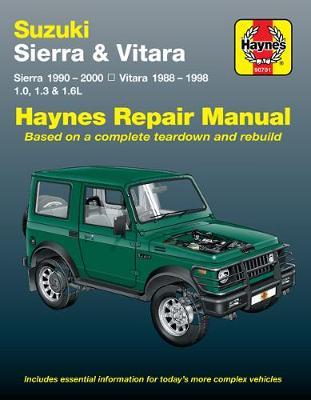 Suzuki Sierra 1990-2000/Vitara 1988-1998 Repair Manual