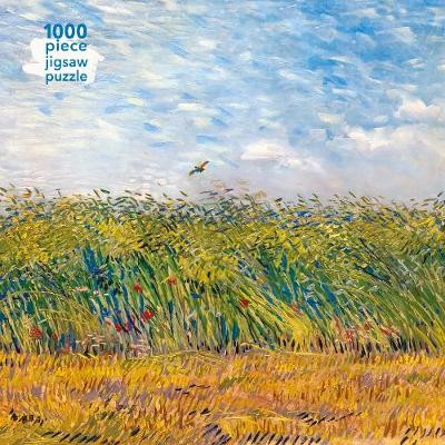 Adult Jigsaw Puzzle Vincent Van Gogh: Wheat Field with a Lark: 1000-piece Jigsaw Puzzles