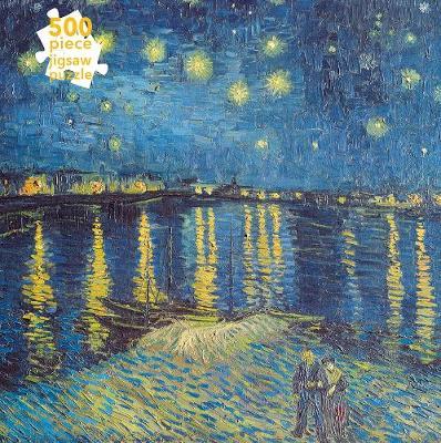 Van Gogh Starry Night Over The Rhone 500 Jigsaw