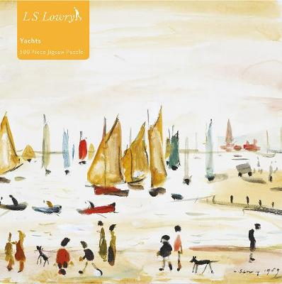 L S Lowry Yachts 500 Piece Jigsaw