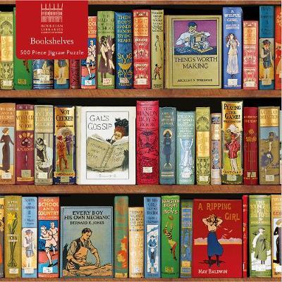 Bodleian Libraries Three Shelves 500 Jigsaw