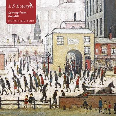 L S Lowry Coming From The Mill 500 Jigsaw