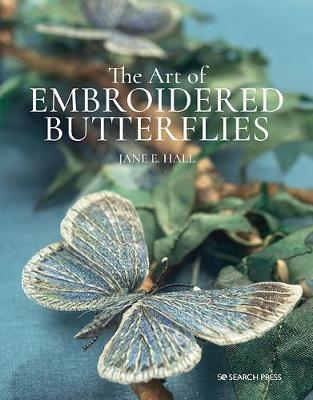 Art of Embroidered Butterflies (paperback edition)