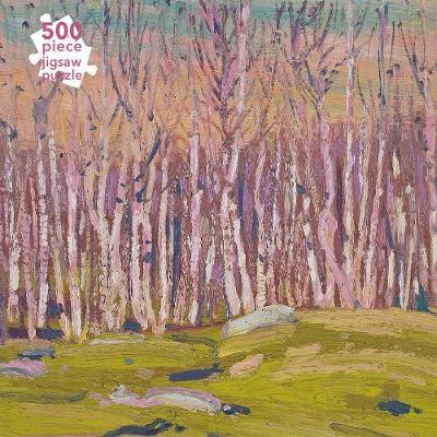 Adult Jigsaw Puzzle Tom Thomson: Silver Birches (500 pieces): 500-piece Jigsaw Puzzles