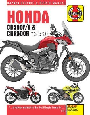 Honda CB500F, CB500X, CBR500R 2013-2020 Repair Manual
