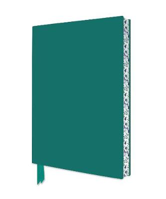 Teal Artisan Notebook (Flame Tree Journals)