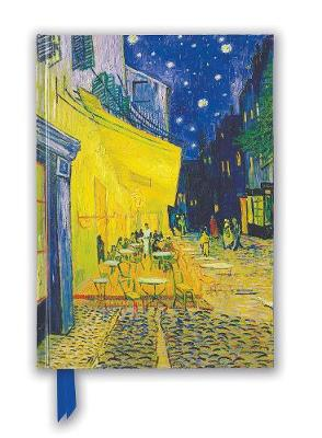 Van Gogh: Cafe Terrace (Foiled Blank Journal)