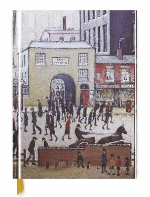 L.S Lowry: Coming from the Mill (Blank Sketch Book)