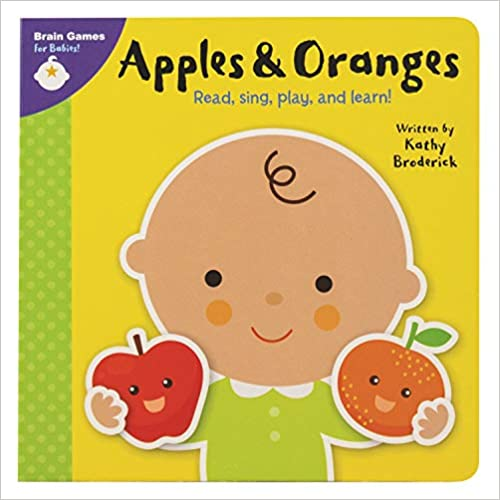 Apples and Oranges Brain Games for Babies