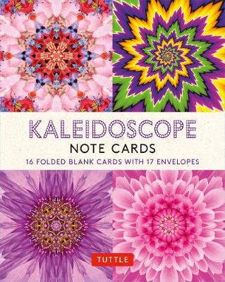 Kaleidoscope, 16 Note Cards: 16 Different Blank Cards with 17 Patterned Envelopes