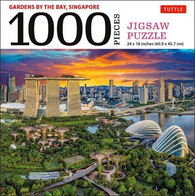 Singapore's Gardens by the Bay – 1000 Piece Jigsaw Puzzle: (Finished Size 24 in X 18 in)