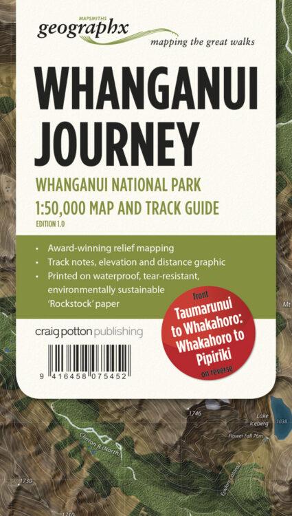 Whanganui Track FOLDED Map