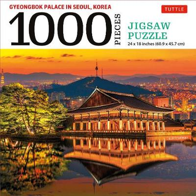Gyeongbok Palace in Seoul Korea – 1000 Piece Jigsaw Puzzle: (Finished Size 24 in X 18 in)