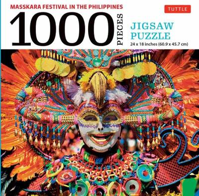 MassKara Festival, Philippines – 1000 Piece Jigsaw Puzzle: (Finished Size 24 in X 18 in)