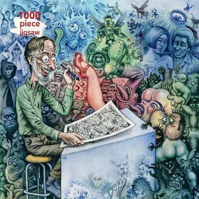 Adult Jigsaw Puzzle R. Crumb: Who's Afraid of Robert Crumb?: 1000-piece Jigsaw Puzzles
