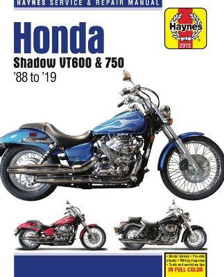 Honda VT600 & VT750 Shadow 1988-2019 Repair Manual