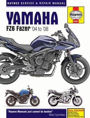Yamaha FZ6 Fazer 2004-2008 Repair Manual
