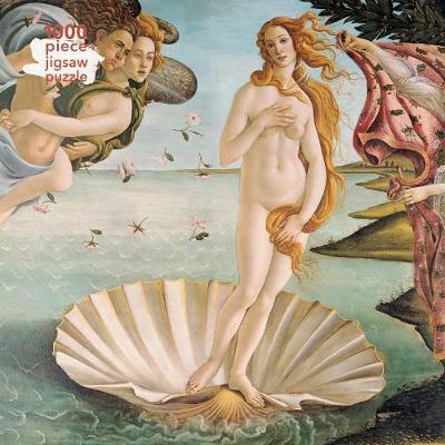 Adult Jigsaw Puzzle Sandro Botticelli: The Birth of Venus: 1000-piece Jigsaw Puzzles