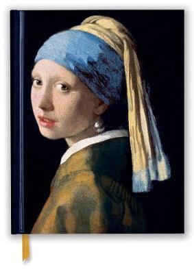 Johannes Vermeer: Girl With a Pearl Earring (Blank Sketch Book)