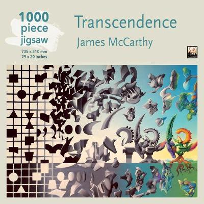 Adult Jigsaw Puzzle James McCarthy: Transcendence: 1000-piece Jigsaw Puzzles