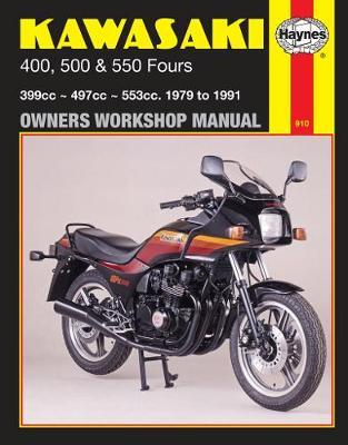 Kawasaki 400, 500 & 550 Fours (79 – 91)
