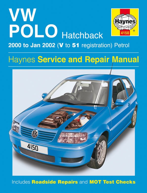 VW Polo Hatchback Petrol 2000-2002 Repair Manual