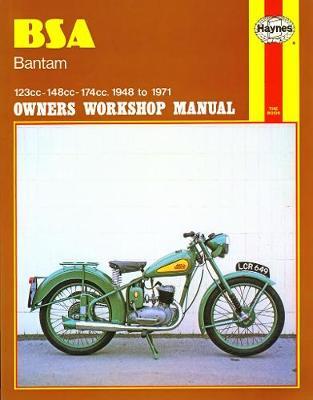 BSA Bantam; 123cc, 148cc, and 174cc 1948-1971 Repair Manual