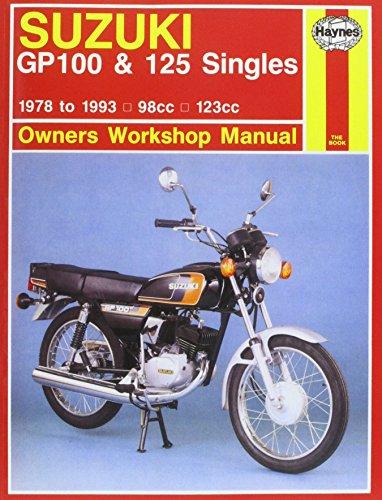 Suzuki GP100 & 125 Singles 1978-1993 Repair Manual