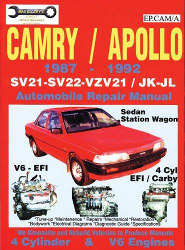 Toyota Camry/Apollo Sv21/22 – Vzv21/Jk-Jl