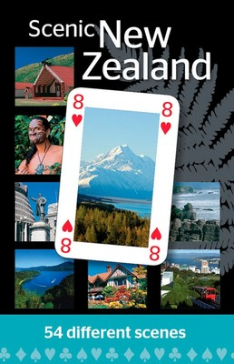Scenic New Zealand Playing Cards
