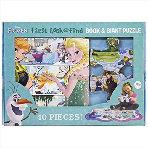 Disney Frozen 1st Look & Find Puzzle Box
