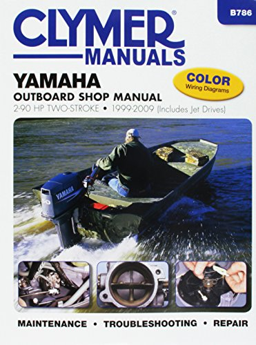 Yamaha 2-90 HP 2-Stroke Outboard/Jet Drives 1999-2009 Repair Manual