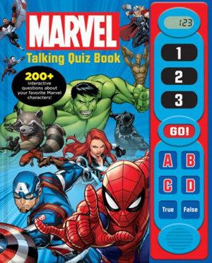Marvel: Talking Quiz Book