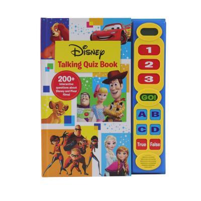 Disney: Talking Quiz Book