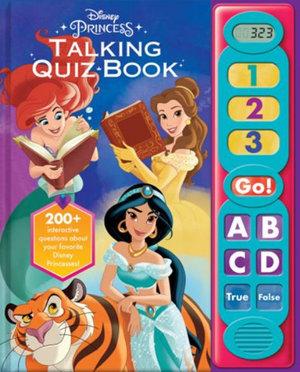 Disney Princess: Talking Quiz Book